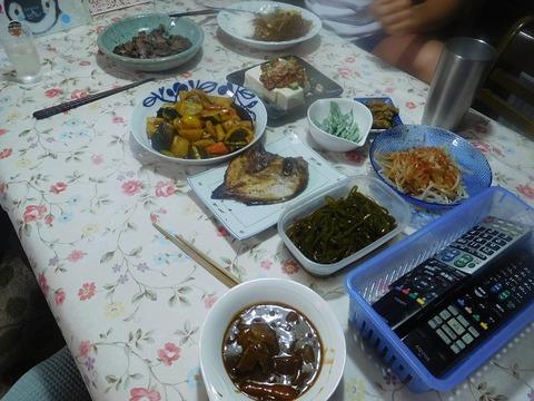 7月31日の夕食