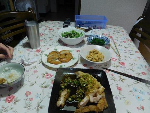 6月6日の夕食
