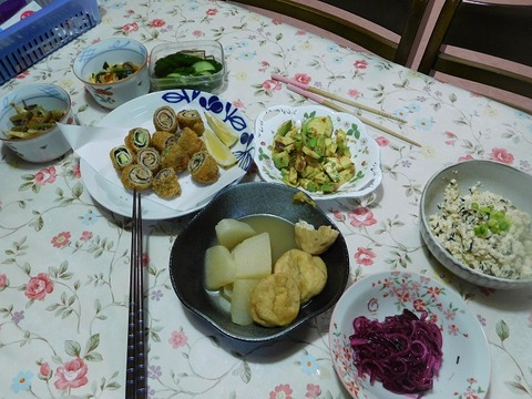 7月20日の夕食