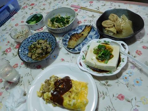 7月21日の夕食