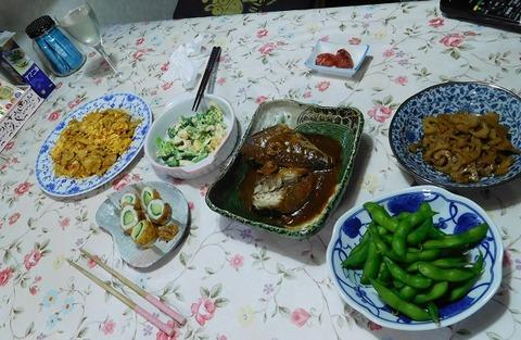 3月14日の夕食