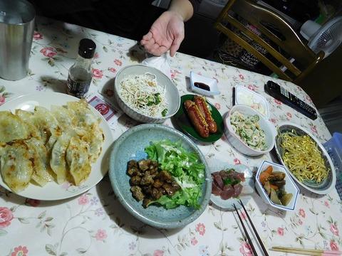 4月12日の夕食
