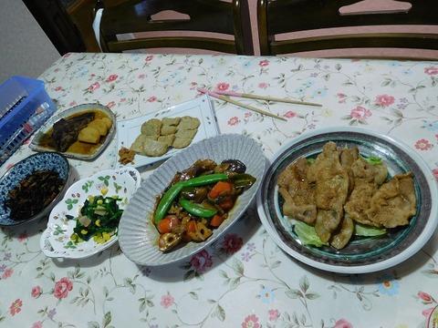 1月16日の夕食