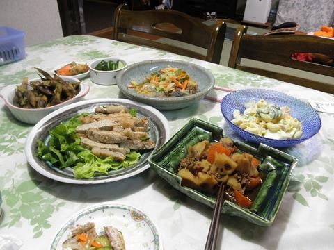 10/25の夕食