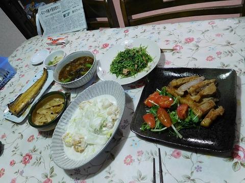 12月3日の夕食
