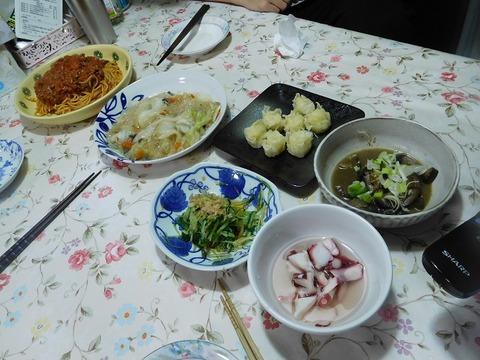 5月22日の夕食