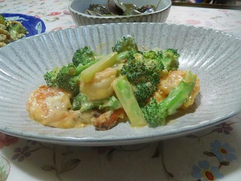 海老のマヨネーズ炒め