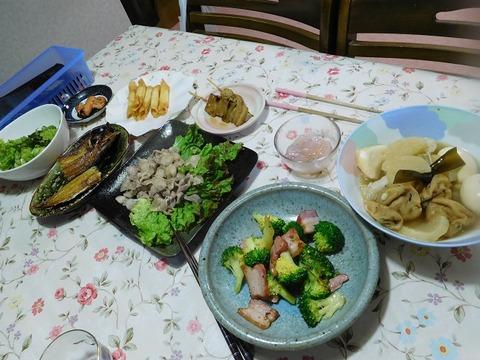 4月7日の夕食
