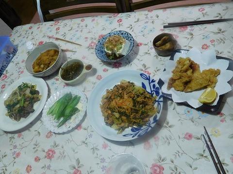 4月26日の夕食