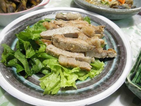 豚肉の味噌漬け焼き