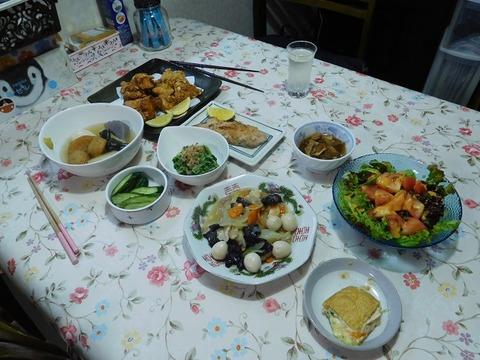 9月27日の夕食
