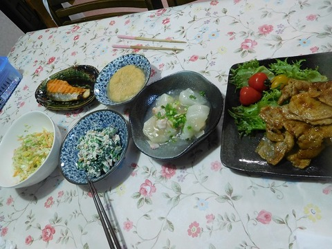 5月17日の夕食