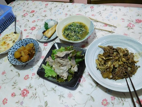 3月6日の夕食