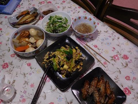 6月18日の夕食
