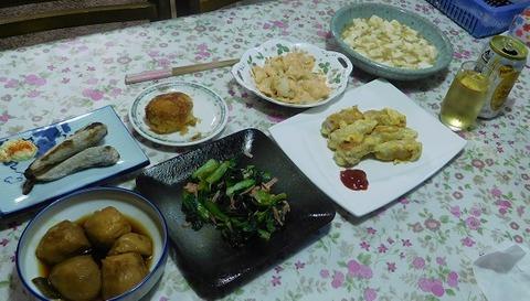 1月18日の夕食