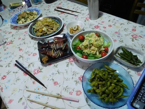 8月28日の食卓