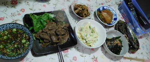 5月24日の夕食
