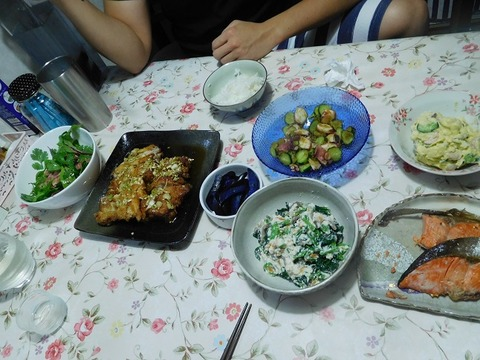 9月26日の夕食