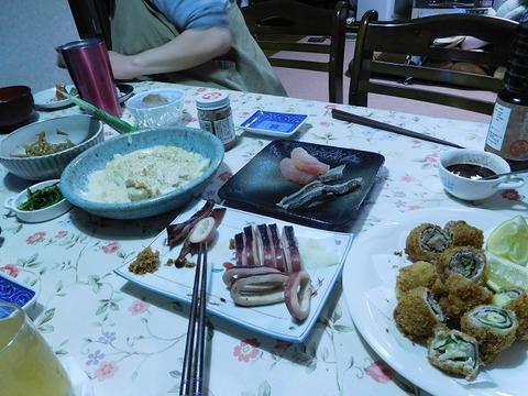 1月11日の夕食
