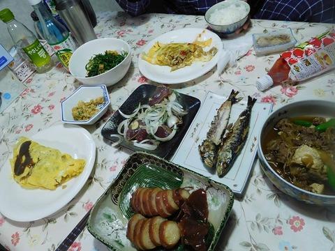 6月7日に夕食