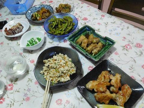 8月30日の夕食