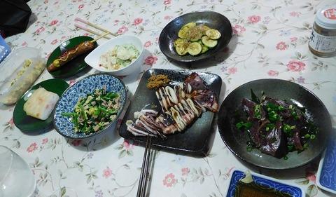 6月30日の夕食