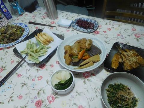 8月2日の夕食