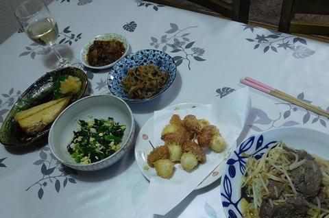 1月21日の夕食