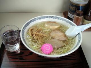 精養軒・塩ラーメン