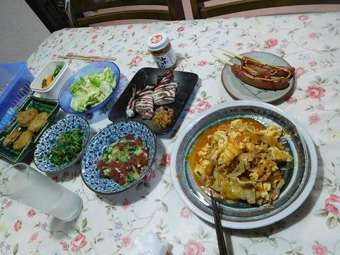 9月15日の夕食