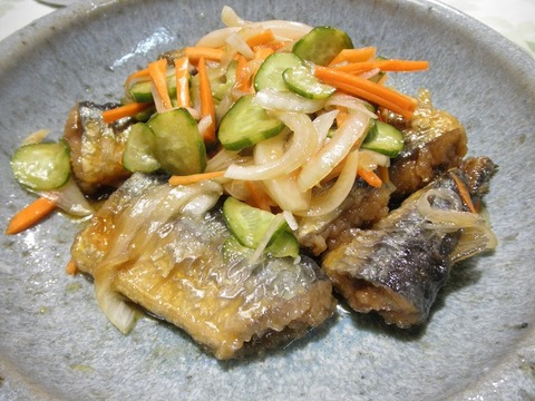 秋刀魚の南蛮漬け