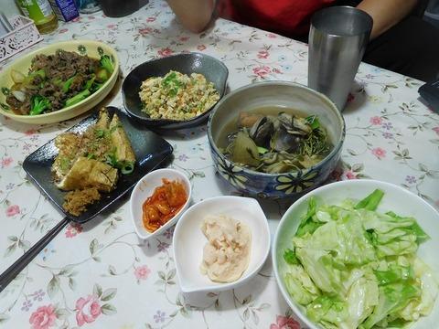6月29日の夕食