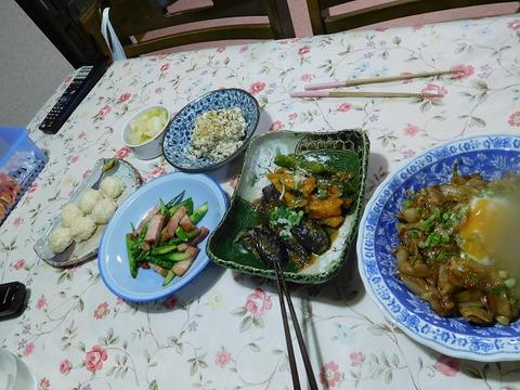 3月25日の夕食
