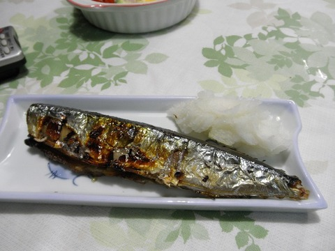 サンマ焼き魚