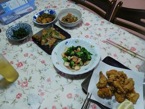 6月22日の夕食