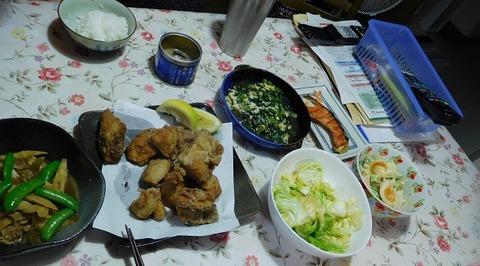 6月12日の夕食