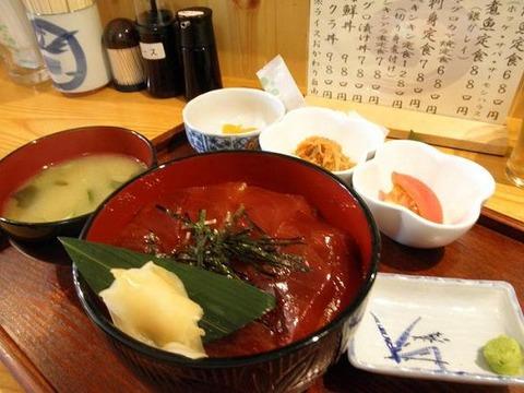 マグロ漬け丼780円