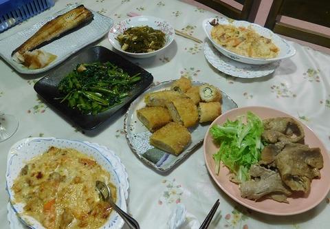 7月18日の夕食