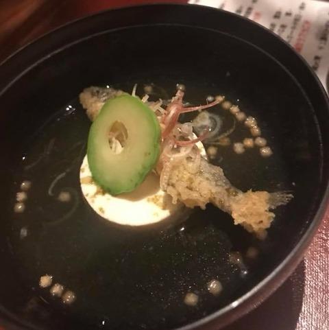 稚鮎と手作り豆腐