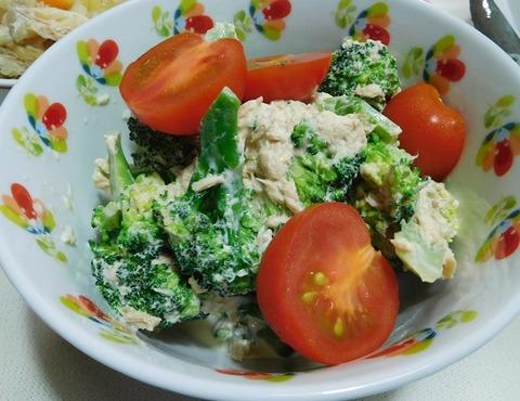 ツナとブロッコリーサラダ