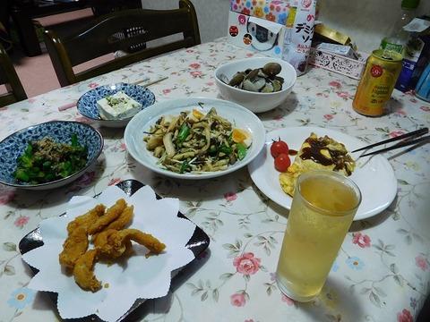 3月26日の夕食