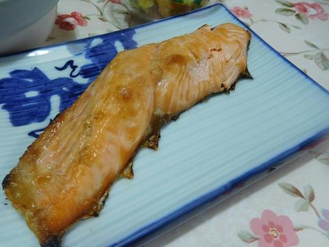生鮭焼き魚