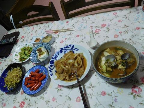 3月3日の夕食