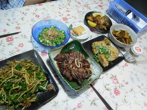 7月26日の夕食
