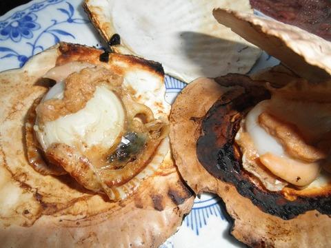 帆立貝焼き