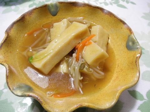 高野豆腐の中華風