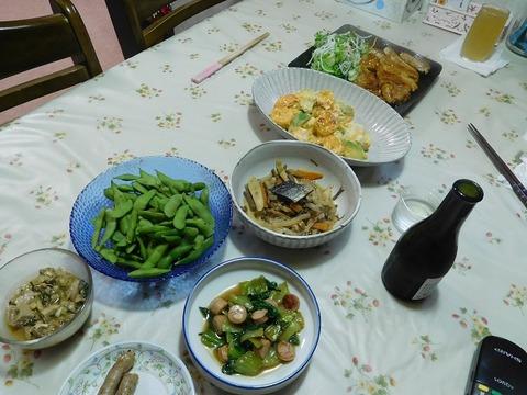 7月12日の夕食