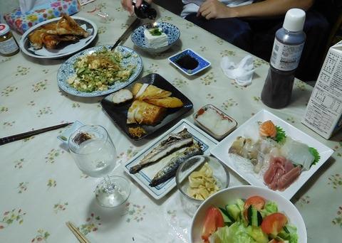 9月17日の夕食
