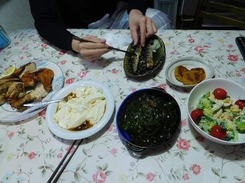 2月21日の夕食