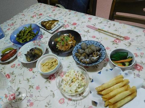 9月2日の夕食